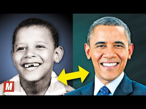 Barack Obama | From 1 To 55 Years Old