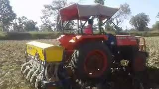 Crop Cutting and Binding Machanically