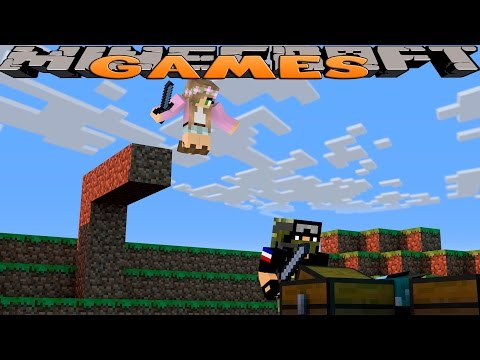 Minecraft GAMES - WE WIN THE HUNGER GAMES!!! w/Little Kelly
