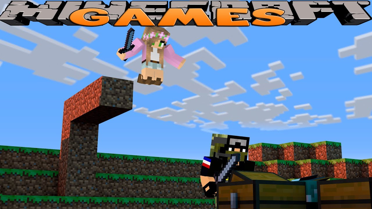 Minecraft games we win the hunger games w little for The game mind craft