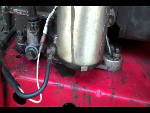 How To Convert Briggs To Electric Start 6 10 11 Youtube
