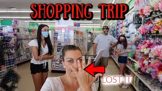 SHOPPING TRIP SHOP WITH ME! LOST MY WEDDING RINGS! EMMA AND ELLIE