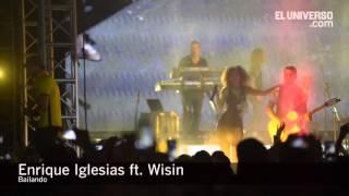 Enrique Iglesias y Wisin bailaron con Guayaquil