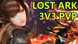Lost Ark Online PvP Gameplay 3v3 Match Killing Spree (로스트아크)