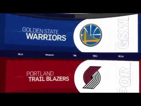 Golden State Warriors vs Portland Trailblazers Game Recap | 12/29/18 | NBA
