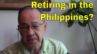 Reasons not to retire in the Philippines
