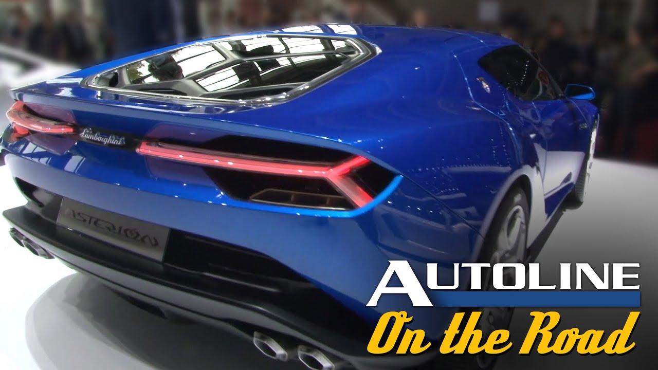 Lamborghini Asterion Hybrid Supercar Ready For Production Paris