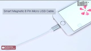 Detachable Magnetic Micro USB Cable  -  Gearbest.com