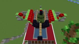 Minecraft Automatic AFK Tree Farm