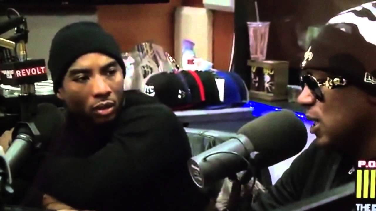 Charlamagne gets checked by Master P on The Breakfast Club