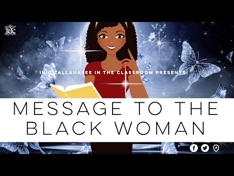 The Israelites: Message To The Black Woman!!!
