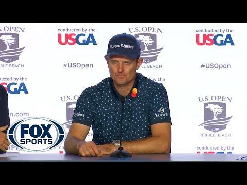 Justin Rose discusses his 1-under second round | 2019 U.S. OPEN
