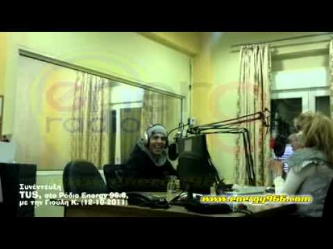 TUS INTERVIEW STO RADIO ENERGY 96 6 http   www facebook com TUS H TUSIS flv