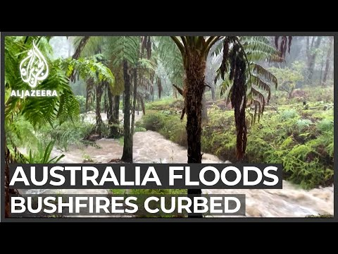 Severe floods in Australia after devastating bushfires