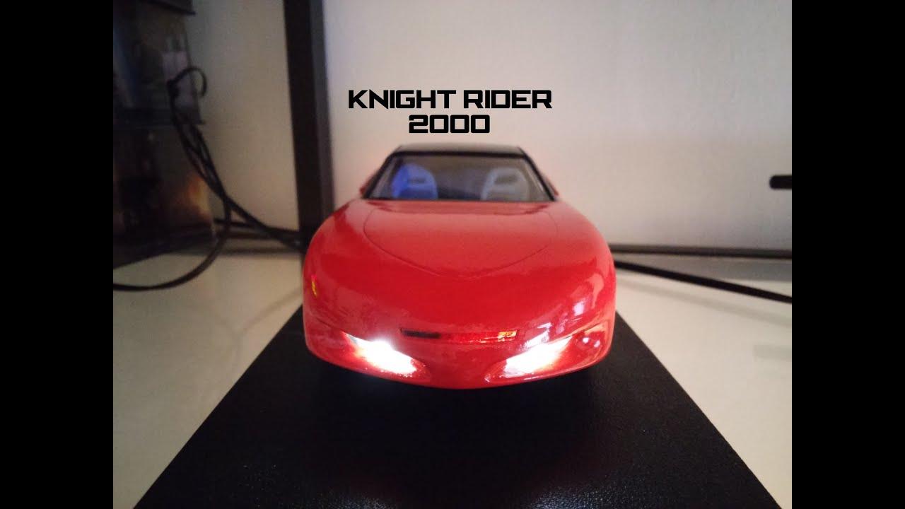 kift amt knight rider 2000 model kit youtube. Black Bedroom Furniture Sets. Home Design Ideas