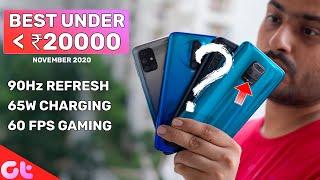 TOP 7 BEST PHONES UNDER 20000 in NOVEMBER | Galti Mat Karna! | GT Hindi
