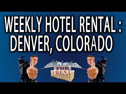 Weekly Hotel Rental: Denver, Colorado