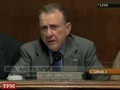 Mark Filip on Congressional Primacy, Waterboarding