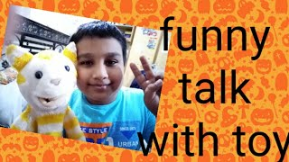 funny talking with naughty billo toy||rahi funny vibes||