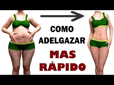 bajar de peso rapido sin hacer ejercicio caminando