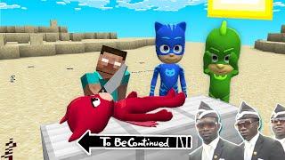 PJ MASKS vs HEROBRINE in Minecraft - Coffin Meme THOMAS THE TANK ENGINE.EXE