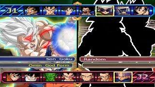 Baixar Goku Omni God VS Five Random - Dragon Ball Z Budokai Tenkaichi 3