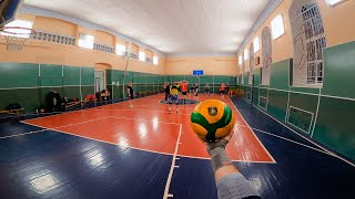 Волейбол от первого лица | VOLLEYBALL FIRST PERSON | Most Funny Moments in training | 116 episode