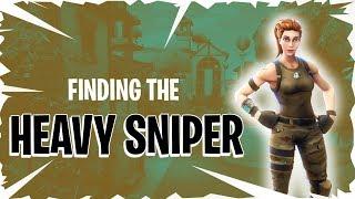 Finding the *NEW* HEAVY SNIPER RIFLE! - 14 KILL Match - Fortnite Battle Royale Season 5