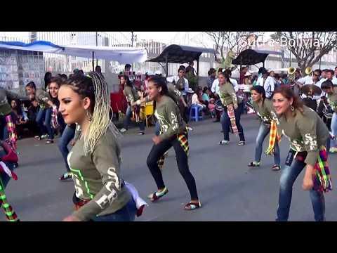 "Pre entrada Virgen De Guadalupe 2017. Sucre-Bolivia. Baile del Tinkuy "" Atipay """