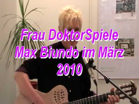 Frau Doktor-Spiele T+M: Max Biundo from YouTube · Duration:  2 minutes 1 seconds
