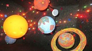 Поделка КОСМОС в детский сад(, 2016-03-31T08:26:13.000Z)