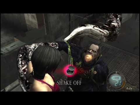 resident evil 4 ada impalement death