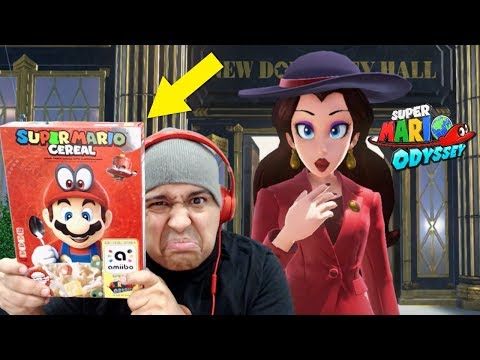 I'M REALLY CEREAL ABOUT THIS ONE! NO? OKAY. [SUPER MARIO ODYSSEY]