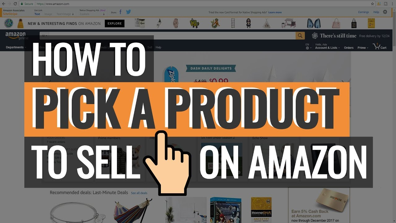 The Best Way to Pick a Product to Sell on Amazon for Beginners