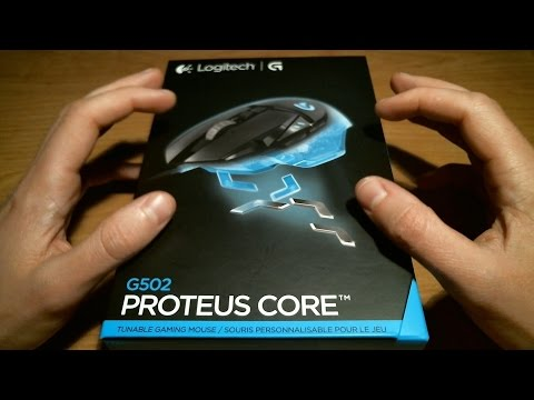 ASMR Whisper: Logitech G502 Proteus Core Gaming Mouse Unboxing
