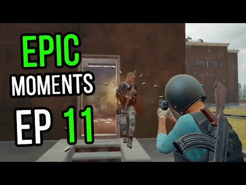 PUBG: Epic & Lucky Moments Ep 11