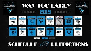 PNP: Way Too Early Schedule Predictions!!!