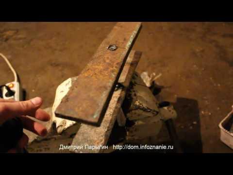 Колодец своими руками. Часть 2.1. Металлический крепёж колодца.