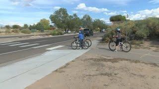 Neighbors say drivers blatantly ignore crosswalk on Montano