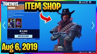 FORTNITE ITEM SHOP *NEW* DEADFIRE SKIN RETURNS AND NEW FRACTAL ZERO WRAP! | ITEM SHOP (Aug 6, 2019)