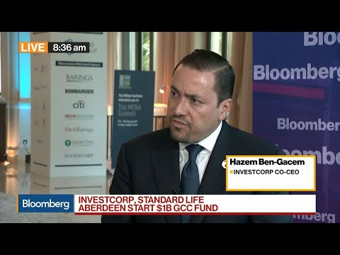 Investcorp, Standard Life Aberdeen Start $1B GCC Fund, Says