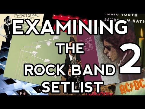 Examining the Rock Band 2 Setlist