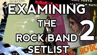 Examining the Rock Band 2 Setlist
