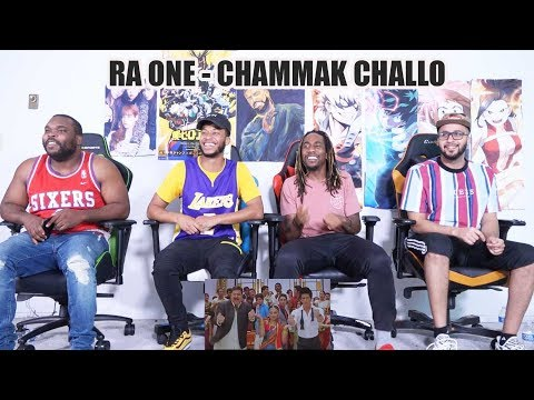 Chammak Challo  Ra One  Srk  Song Reaction!