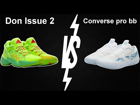 Converse all star bb vs Don issue 2