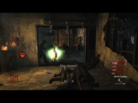 Nazi Zombies DER RIESE GAMEPLAY [HD]