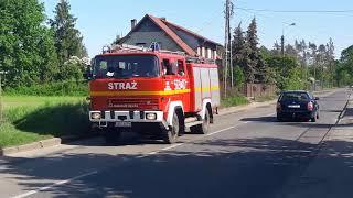 Bardzo Groźny Pożar Lasu W Kuźni Raciborskiej , Przejazdy alarmowe całej gminy