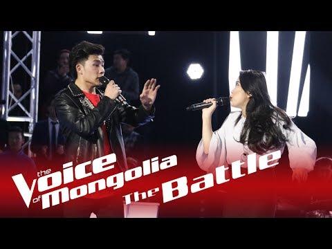 """Ganbileg vs Byambakhishig - """"Don't let me down"""" - The Battle - The Voice of Mongolia 2018"""