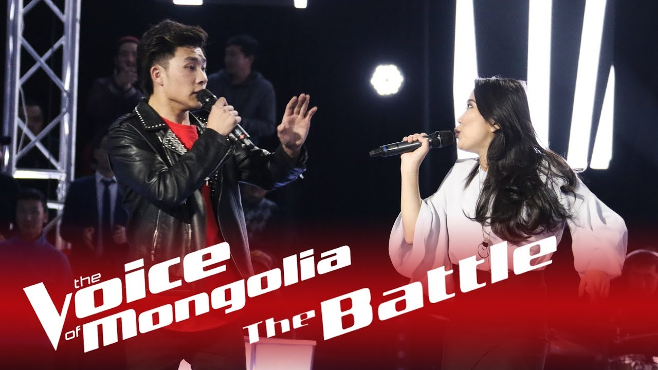 "Download Ganbileg vs Byambakhishig - ""Don't let me down"" - The Battle - The Voice of Mongolia 2018"