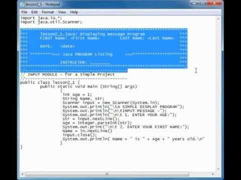 Programming: Good Coding Style